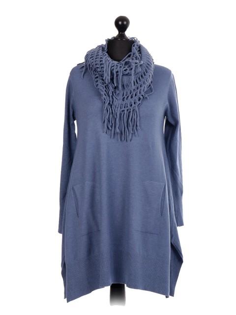 knitted lagenlook jumper Dress 2 Piece Set