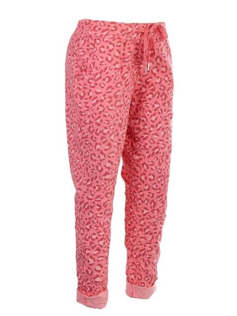 Italian Leopard Print Magic Pants
