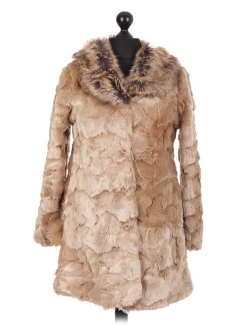 Italian Soft Fur Coat