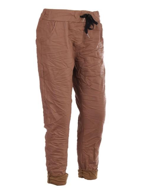 Italian Wet Look Magic Pants