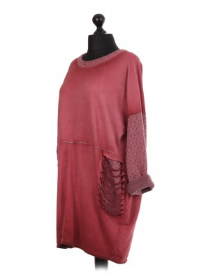 Acid Dye Lagenlook Dress