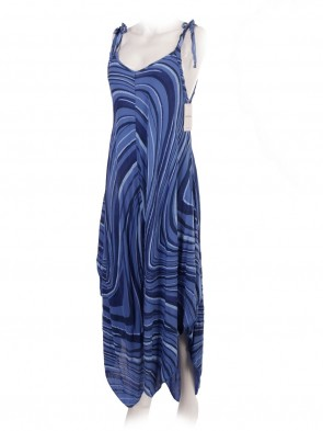 Italian Printed Strappy Jumpsuit