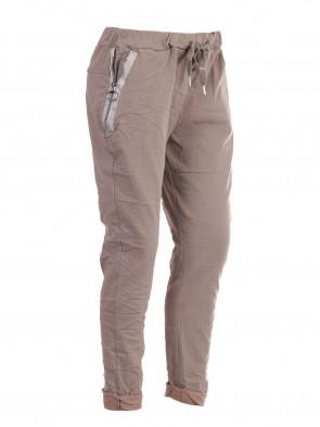 Italian Zipped Pockets Magic Pants
