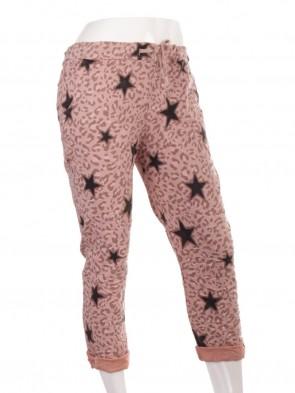 Plus Size Italian Star & Leopard Print Magic Pants