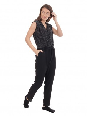 Sparkle Sleeveless Jumpsuit