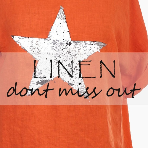 Wholesale Linen Tops and Dresses